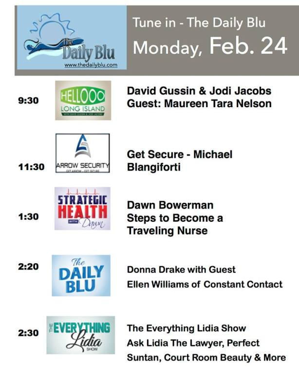The Daily Blu Monday Show Line Up!