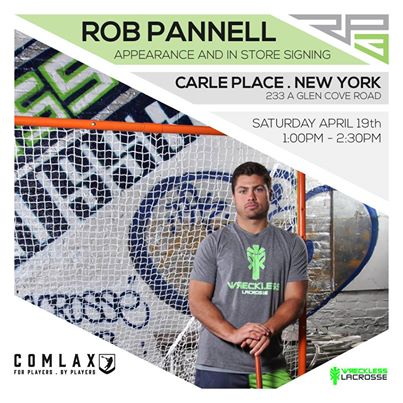 Wreckless Apparel: Rob Pannell Appearance and In Store Signing