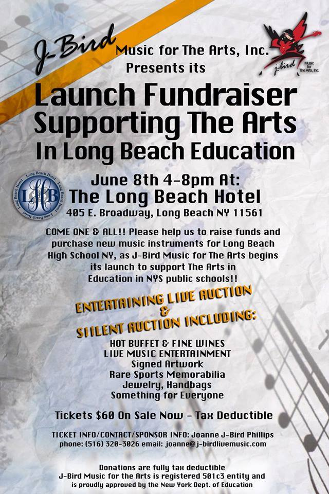 J-Bird Launch Fundraiser Supporting the in Long Beach Education