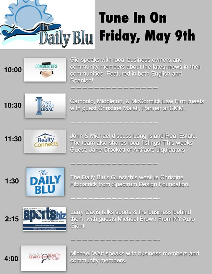 The Daily Blu May 9th