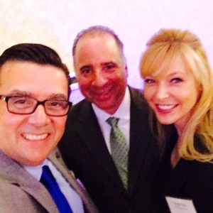 Rich Kruse, LIBN Publisher Scott Schoen and Karin Murphy Caro