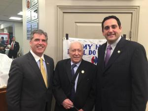 Eugene Cook Herb McGrail & Assemblyman Chad Lupinacci May 6th