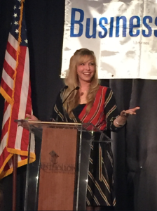 Karin Murphy Caro at LIBN Top CEO's Event
